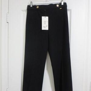 NWT St. John Ponte Caviar Pants Straight Leg